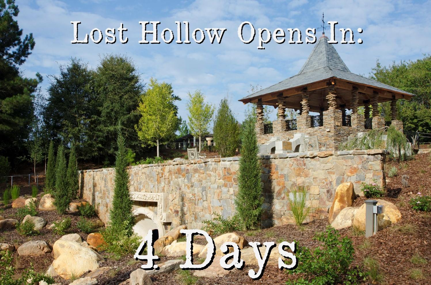 Lost Hollow At The Daniel Stowe Botanical Gardens In NC Opened The Third  Week Of October, 2014!